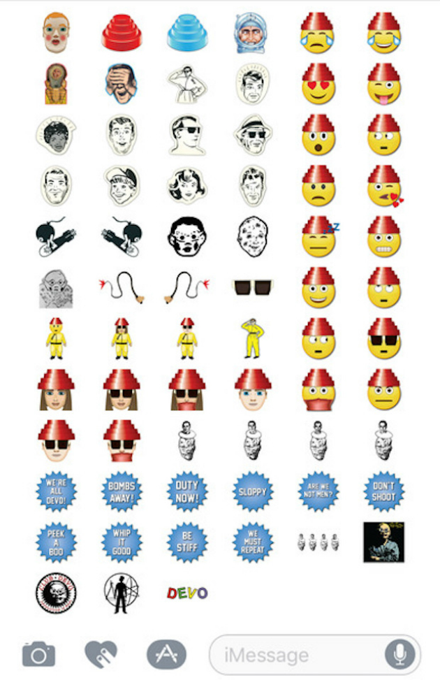 Devo Are The Latest Band To Get Their Own Set Of Emojis