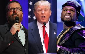 Frankie Boyle, Donald Trump, and 50 Cent