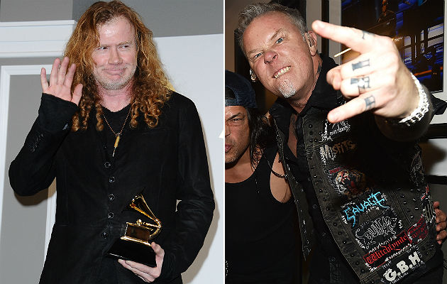Megadeth and Metallica