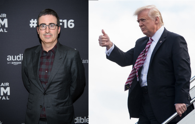 Last Week' Returns: John Oliver Unveils New Way to Troll Trump