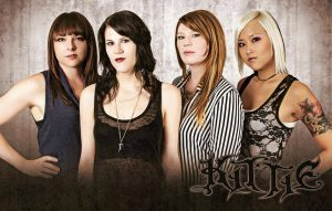 Canadian metal band Kittie