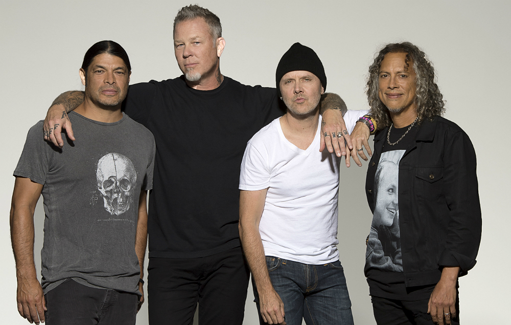 Metallica Named Best International Band Supported By