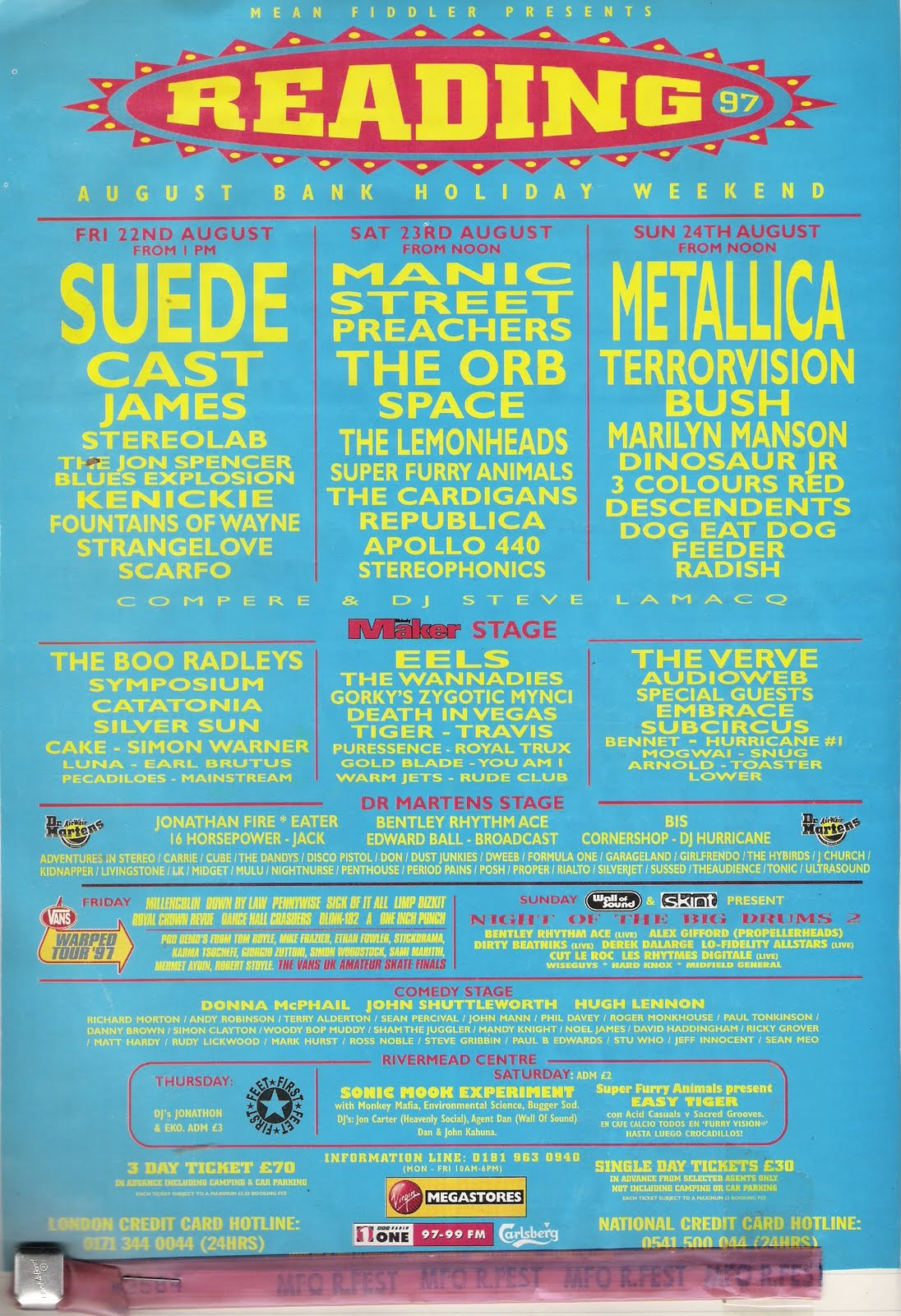 every reading u0026 leeds poster since 1989 nme