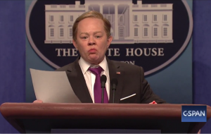 Melissa McCarthy as Sean Spicer