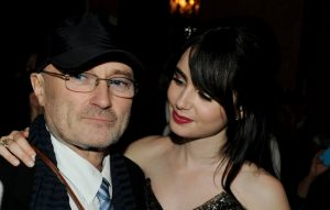 Lily Collins forgives Phil Collins
