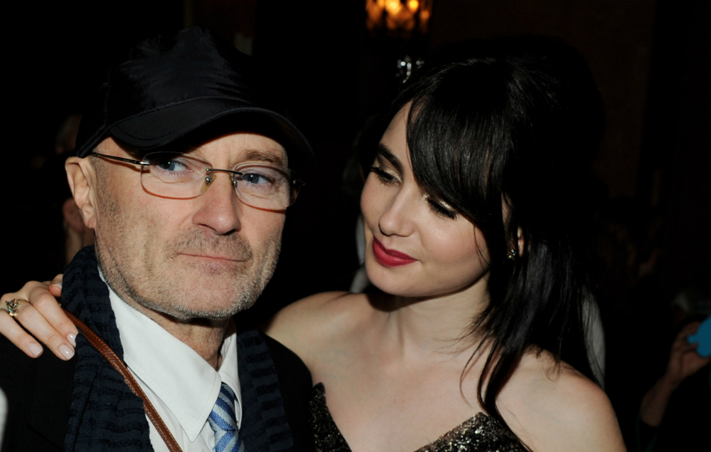 Lily Collins Forgives Her Father Phil Collins In