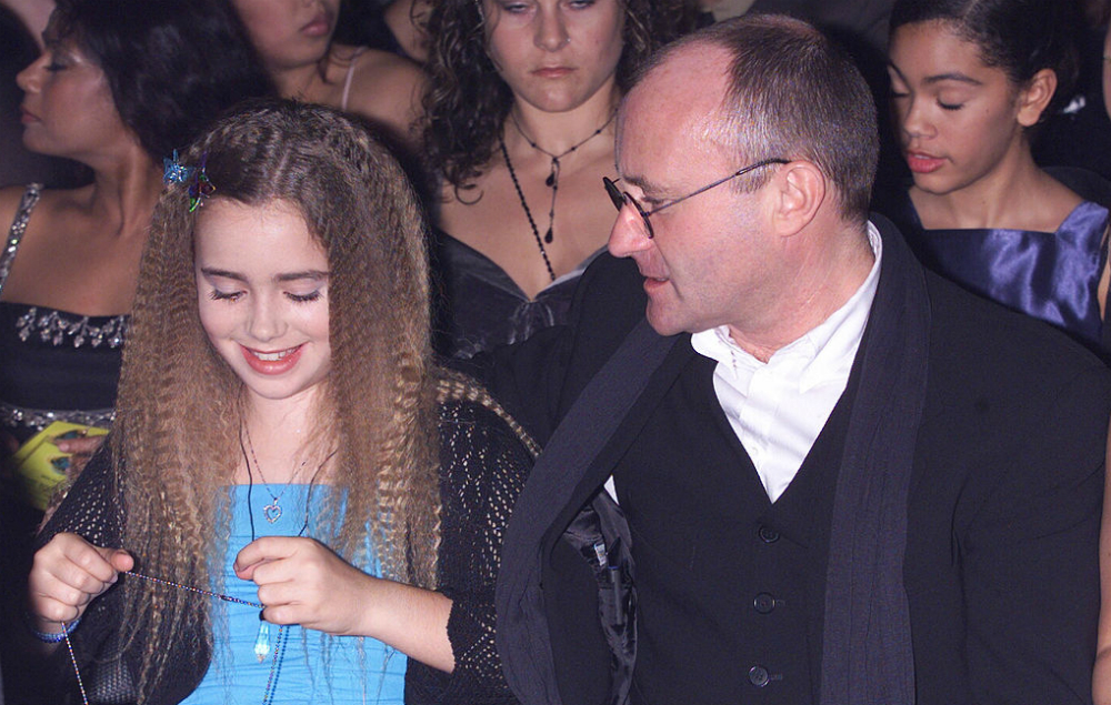 Lily Collins 'forgives' her father Phil Collins in ...