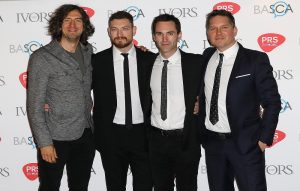 Snow Patrol at the Ivor Novello Awards in 2016