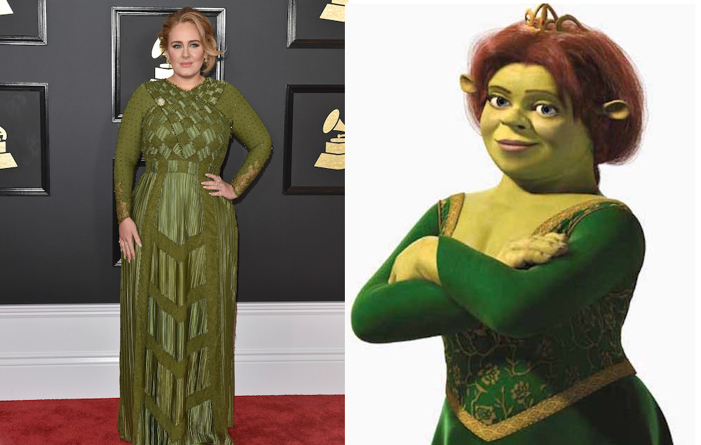 Adele Responds To Trolls Who Compared Her Grammys Look To