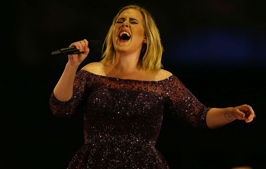 Adele cuts fireworks from her Australian tour