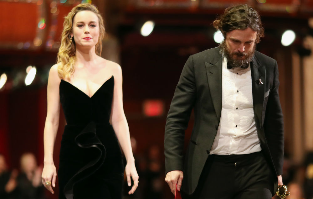 Brie Larson says not clapping Casey Affleck 'spoke for itself