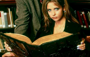 Sarah Michelle Gellar as Buffy the Vampire Slayer