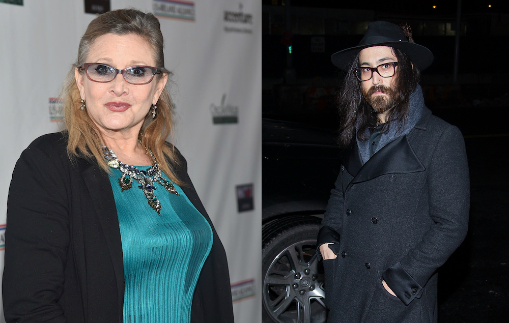 HEAR IT: Carrie Fisher, Sean Lennon wrote a song together