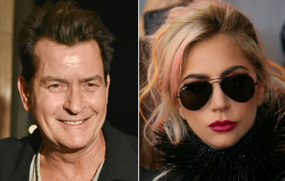 Charlie Sheen Says Lady Gaga Offered To Give Him A Naked Lap Dance - Nme-2041