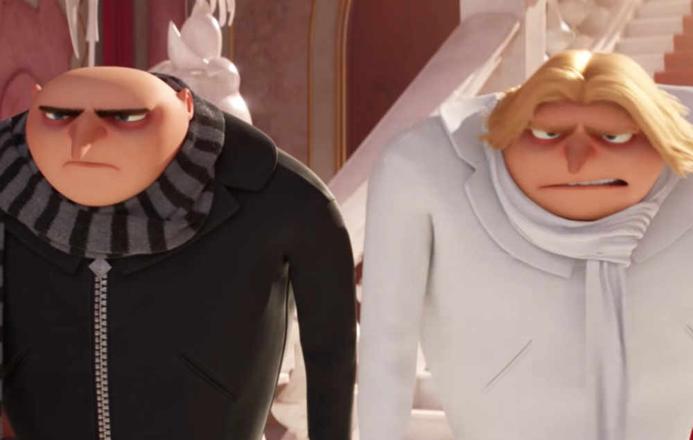 Watch Gru Meet His Twin Brother Dru In The New Despicable