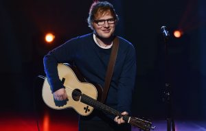 Ed Sheeran's music soothes a crying baby