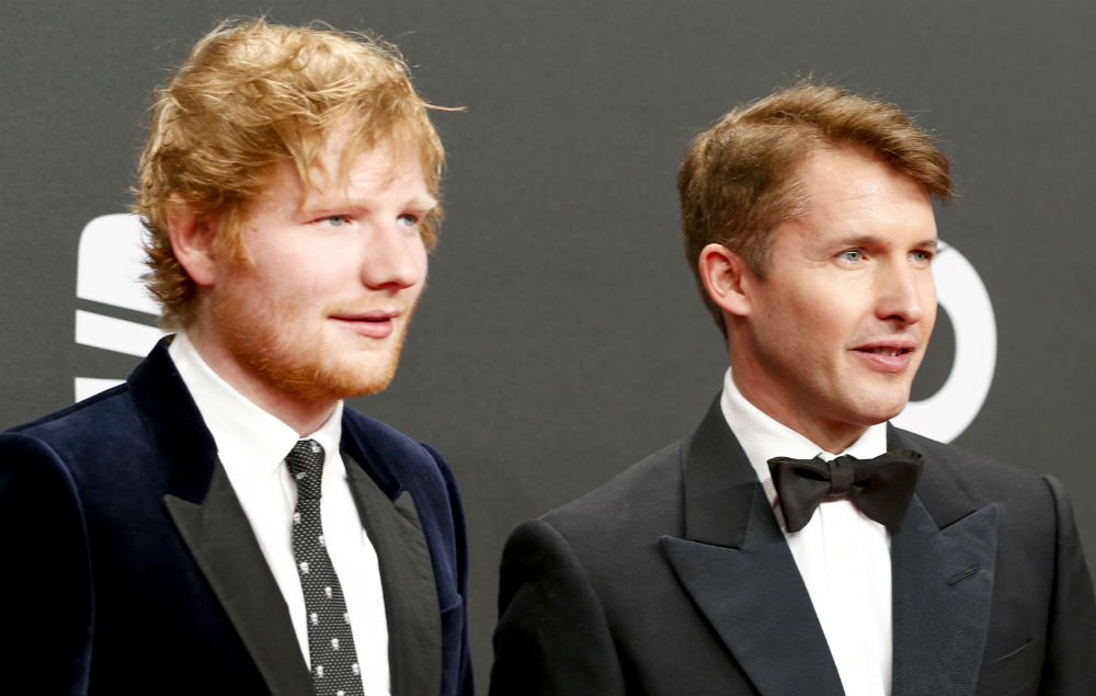 Ed Sheeran branded 'desperate' in scathing rant by James Blunt