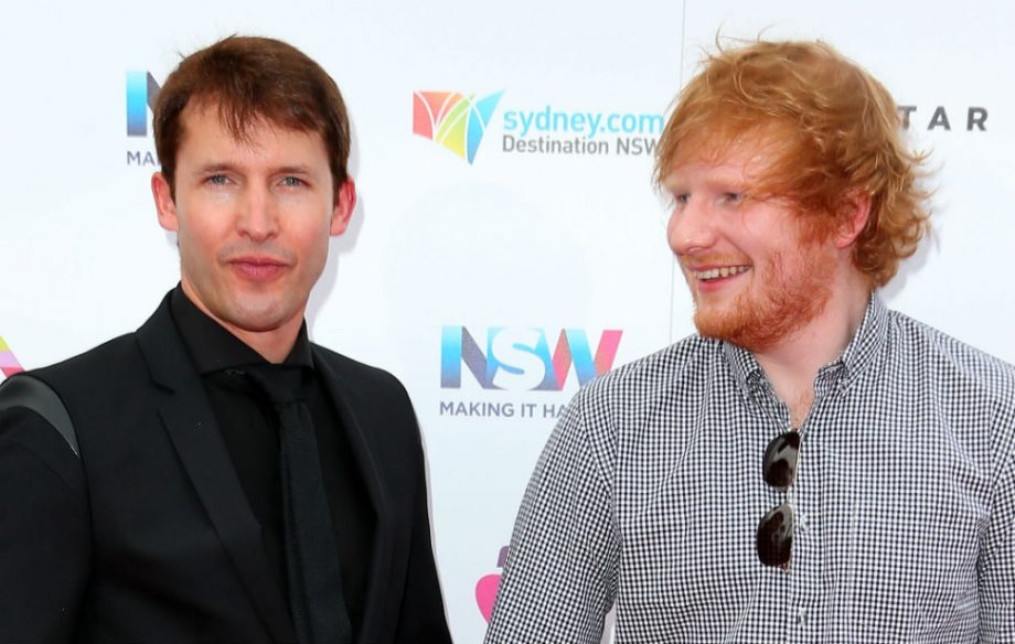 James Blunt says Ed Sheeran taught him how to write songs - NME