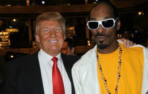 Donald Trump and Snoop Dogg
