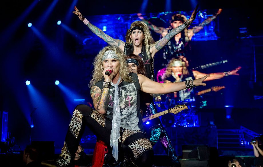 steel panther criticised for sexist 39 pussy melter 39 guitar effect. Black Bedroom Furniture Sets. Home Design Ideas