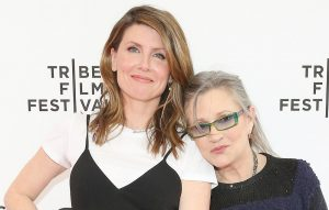 Sharon Horgan and Carrie Fisher