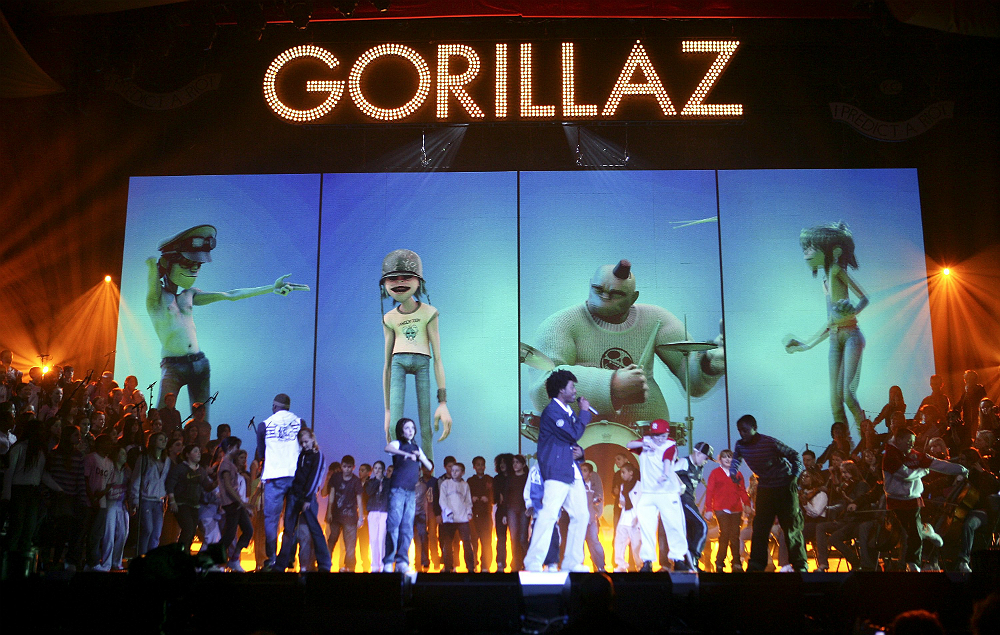 From Holograms To Headliners How Gorillaz S Inventive
