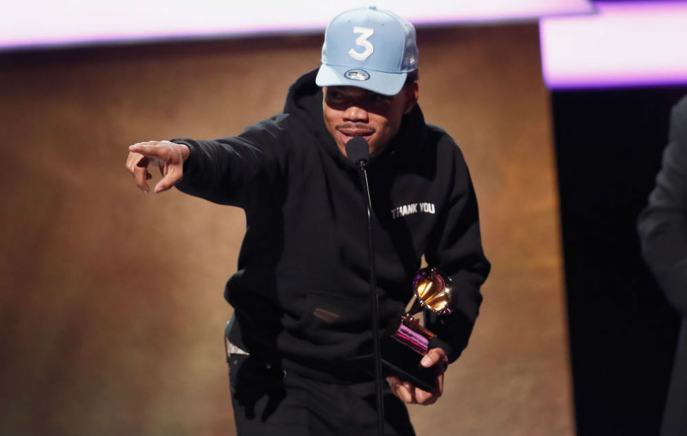 Chance The Rapper Earns $500K From Apple For His Album Coloring Book