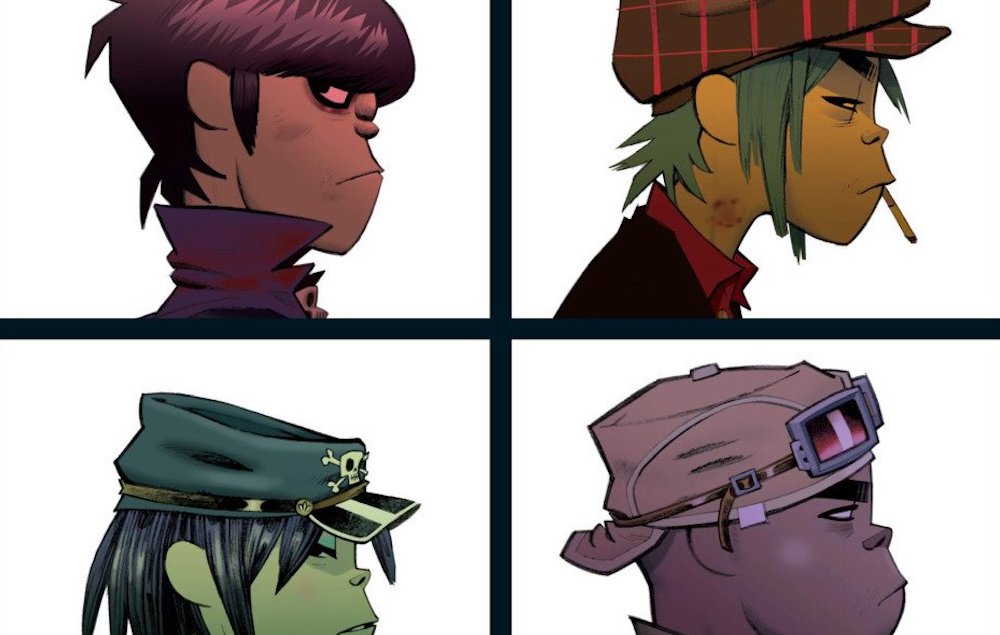 Gorillaz To Release Demon Days On Vinyl For The First