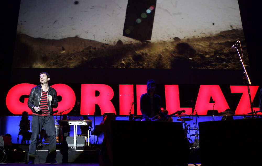 Gorillaz release four new tracks