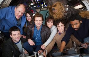 The cast of 'Han Solo: A Star Wars Story'