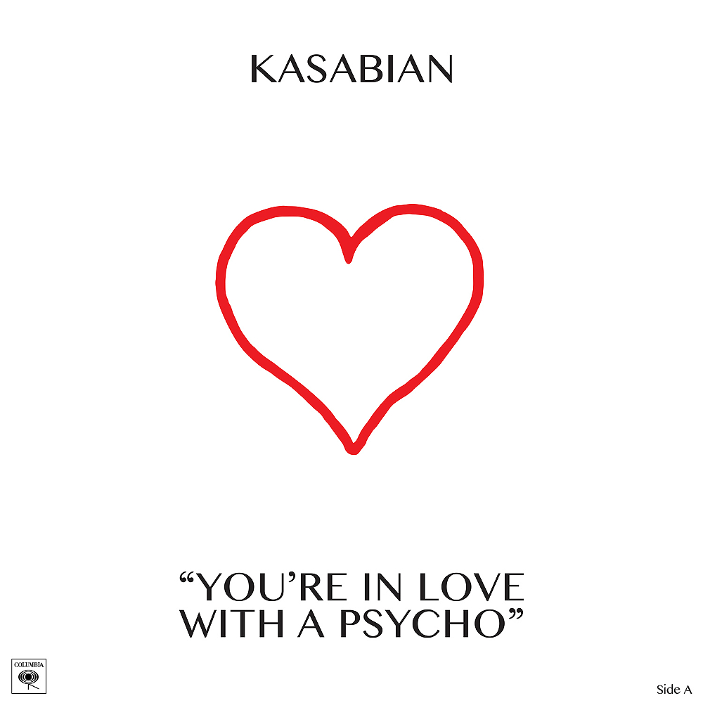 Kasabian release 'You're In Love With A Psycho' for Record Store Day 2017