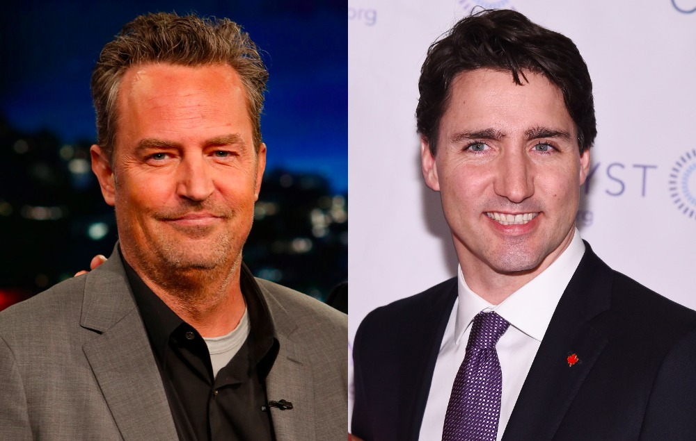 A 10-year-old Matthew Perry beat up Canadian PM Justin Trudeau