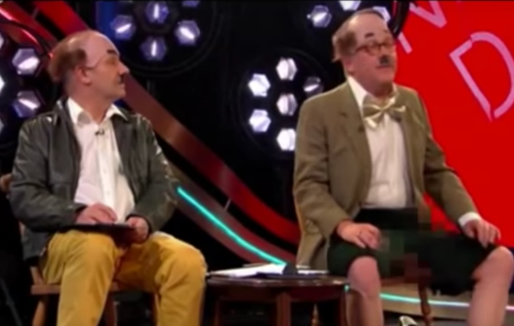 viewers slam comic relief for vic reeves prewatershed