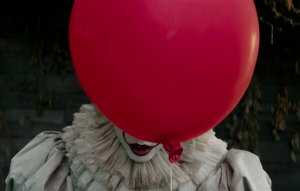 Bill Skarsgård as Pennywise The Clown in Stephen King's 'it'