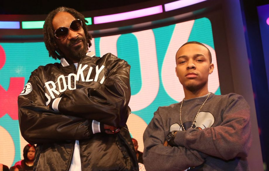 "Snoop Dogg AKA Snoop Lion Visits BET's ""106 & Park"""