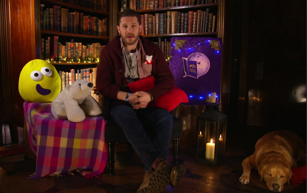 Watch Tom Hardy S Latest Guest Appearance Reading A