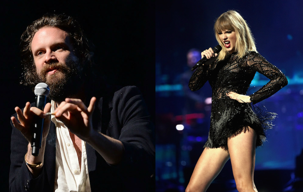 music news father john misty sing about with taylor swift