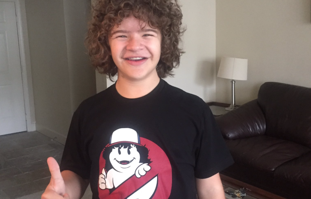 Stranger Things Gaten Matarazzo Launches Charity T Shirt Campaign