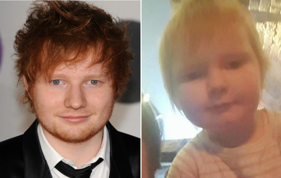 ed sheeran responds to his baby lookalike nme