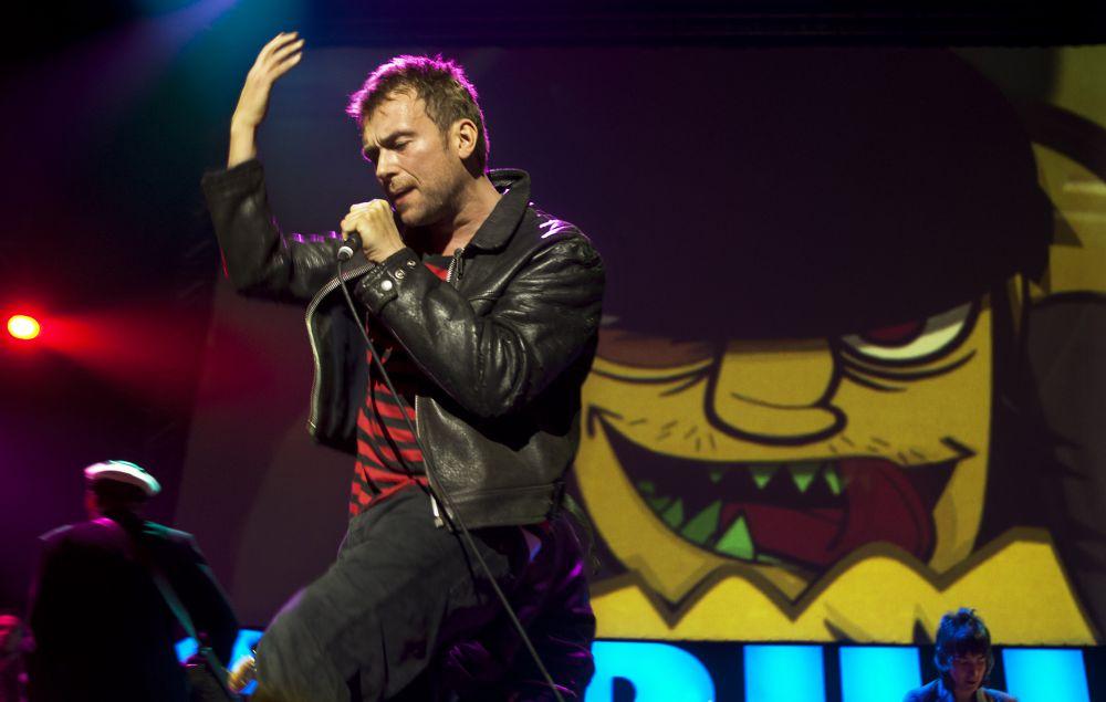 Damon Albarn worked with some of Gorillaz's new album