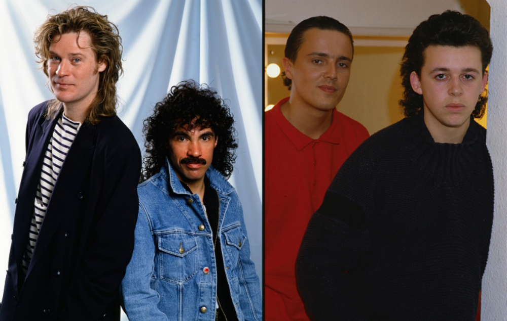 Hall Amp Oates Team Up With Tears For Fears For 80s Themed