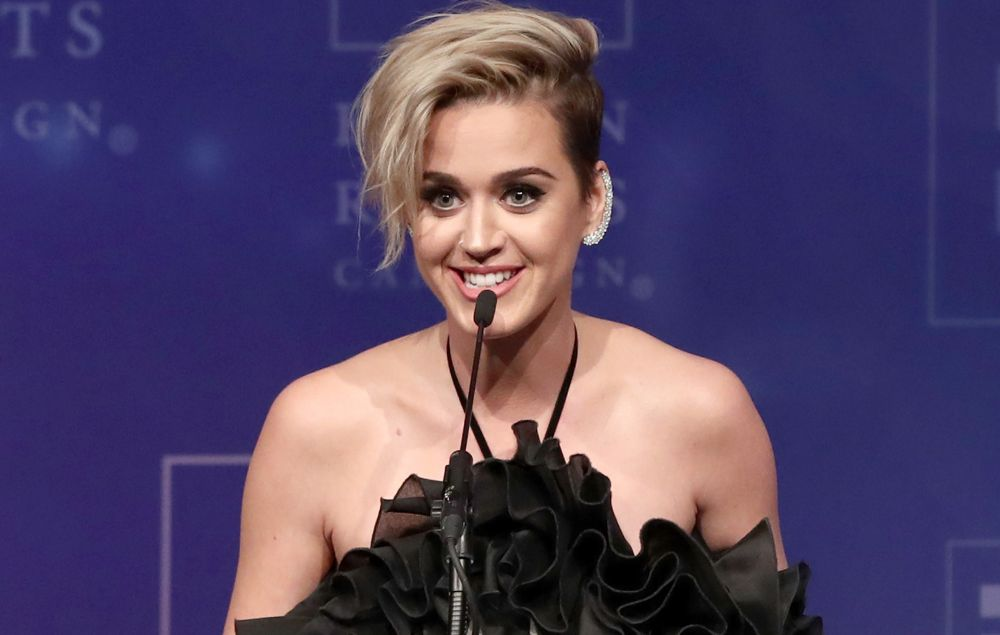 Katy Perry gives powerful speech at Human Rights Campaign ... Katy Perry