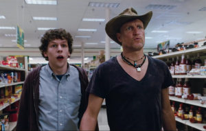 Jesse Eisenberg and Woody Harrelson in 'Zombieland'