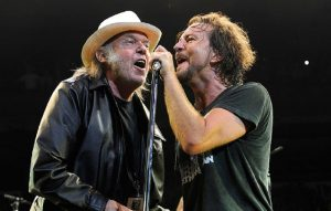 Neil Young and Pearl Jam's Eddie Vedder