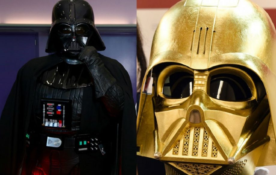 Gold Darth Vader Mask