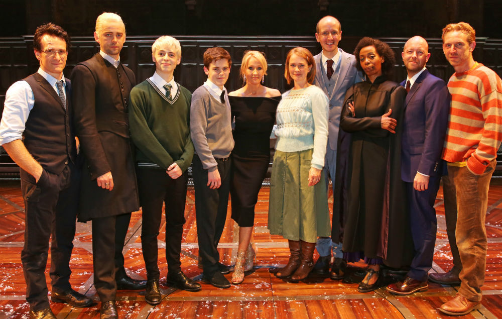 Jk Rowling S Harry Potter Plays Wins Record Number Of