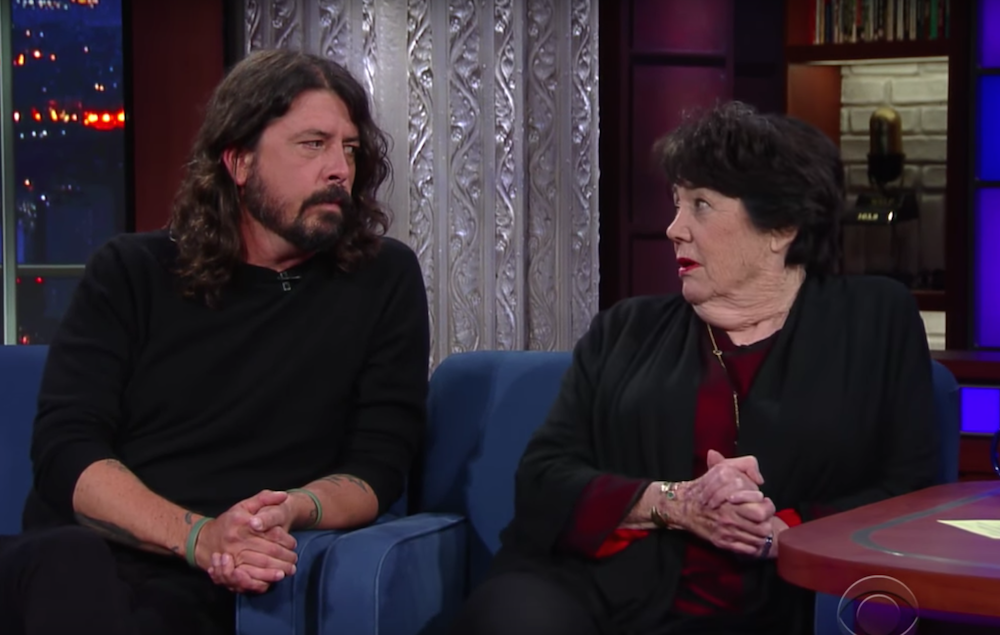 watch dave grohl and his mother talk about kurt cobains