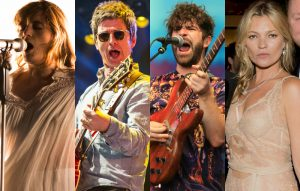 Florence Welch, Noel Gallagher, Foals' Yannis Philippakis, Kate Moss
