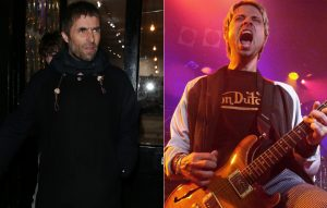 Liam Gallagher and Kevin Cadogan