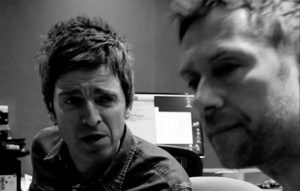 Noel Gallagher and Damon Albarn